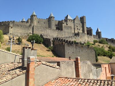 Photo for Magnificent views of Carcassonne  Cite ramparts (Monet)
