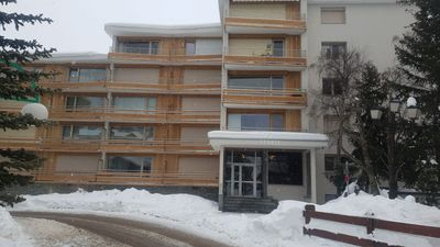 Photo for One bedroom refurbished Studio Apartment, WiFi In Les Deux Alpes,Glacier Resort