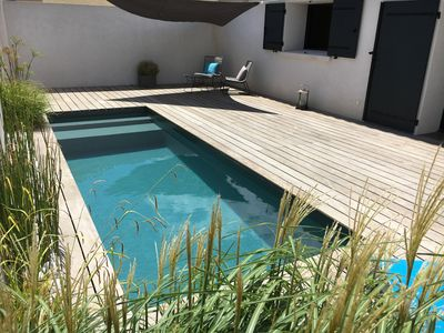 Photo for EN PROVENCE close to beaches. Contemporary house with private heated pool