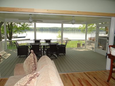 Photo for Brand New Lakefront Cabin - Lake of The Isles