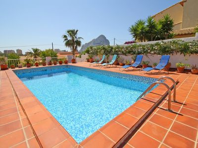 Photo for Nice villa Miada with private pool, terrace, BBQ, wifi and A/C
