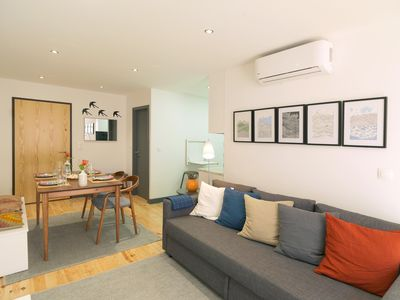 Photo for Porto Modern Apartment apartment in Santo Ildefonso with air conditioning.