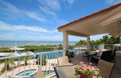 Photo for 3 bedrooms 2 baths with pool and Ocean views with dockage: DKKB