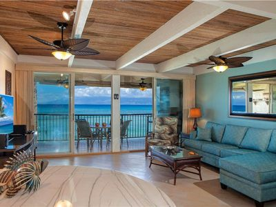 Photo for Amazing Ocean Front ~ Lokelani #B203: 2 BR / 2 BA North of Lahaina - Sleeps 6