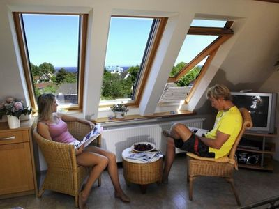 Photo for Scharbeutz sea view apartment. in the Annabel guest house