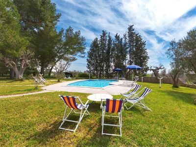 Photo for 943 Villa with pool and garden near Gallipoli