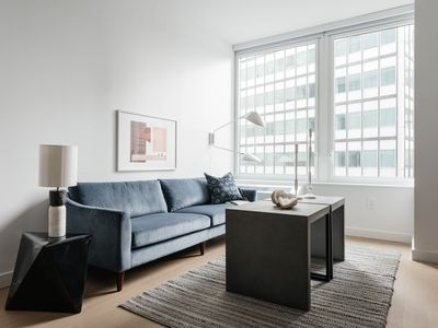 Photo for Bright 1BR in FiDi by Sonder