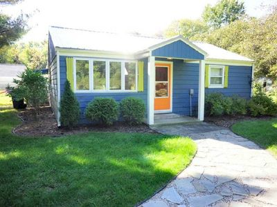 Photo for Bow Tie Cottage: 3 BR / 2 BA three bedroom home in Union Pier, Sleeps 8