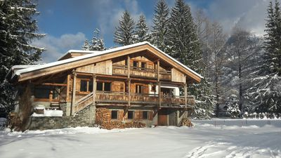 Photo for Chalet***with view in CHAMONIX MONT BLANC ,12 guests, 5min walk from the ski lif