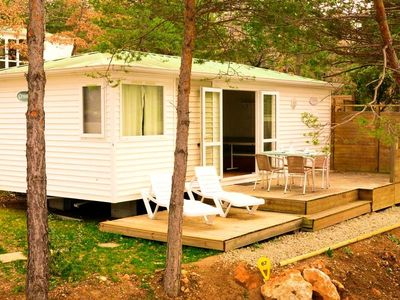 Photo for Camping Chanteraine *** - Mobile home Standard 3 Rooms 4/5 People