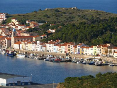 Aerial View of Port-Vendres