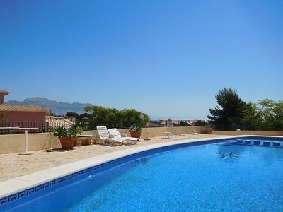 Photo for Apartment in La Nucia with Internet, Washing machine, Air conditioning, Pool (454083)