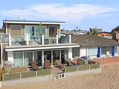 Photo for Open Contemporary Oceanfront Lower Unit in Duplex! Incredible Views!