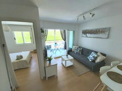 Photo for Beautiful new apartment, 200 meters from the beach