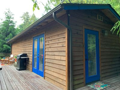 Photo for Cozy Dog Friendly Cabin in the Woods