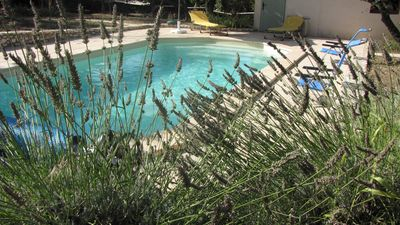 Photo for House in a green setting, quiet, near Uzes; pool available