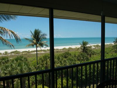Photo for Gorgeous Gulf view condo- lanai, pool, tennis, internet, BBQ