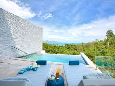 Photo for Shades of Blue Luxury Rental Villa