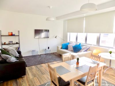 Photo for Spacious Central London Apt  /1 min to Tube / Free Wi-fi & Self Check-in/out