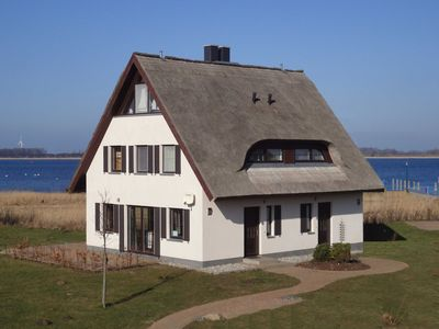 Photo for Haus Kranich - right side - cottage Boddenblick and crane