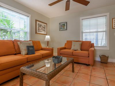 Photo for Contemporary dog-friendly cottage with easy beach access and shared pool
