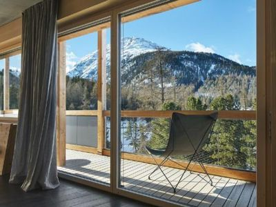 Photo for Holiday apartment Pontresina for 4 persons with 2 bedrooms - Holiday apartment