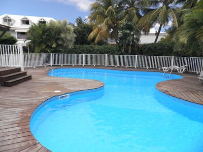 "Photo for ""welcome aboard"" apartment T3, swimming pool, close to the beach"