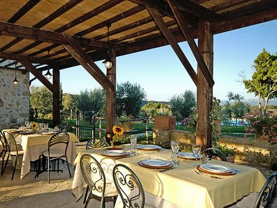 Photo for Apartment Tenuta Decimo  in San Gimignano, Tuscany Chianti - 3 persons, 1 bedroom