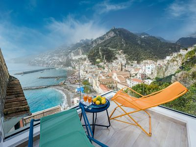Photo for Blue Amalfi - Luxury House with Private Rooftop