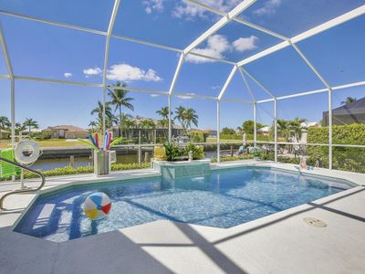 Photo for 400 Bald Eagle is an impressive three-bedroom home on Marco Island with large living spaces, priv...