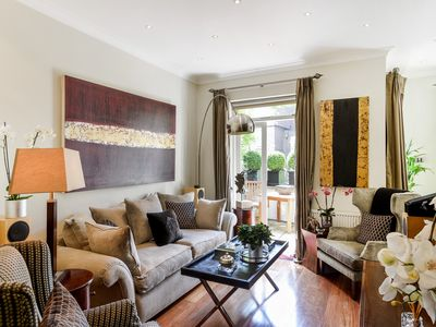 Photo for Luxury 1-Bed Maida Vale Apt with Garden