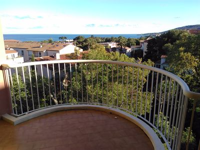 Photo for Apartment T2, sleeps 4, ideally placed, panoramic sea view,
