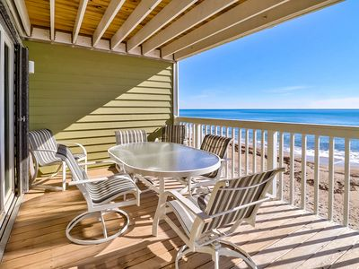 Photo for Oceanfront Condo, Great View Of The Beach, Spacious Balcony!