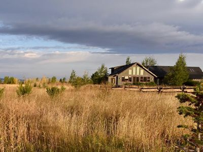 Photo for Dreamcatcher Lodge, Gorgeous View Of The Grand Tetons, Rustic Vacation Lodge.