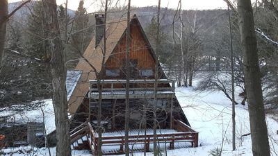 Photo for Windham Mountain A Frame Ski House