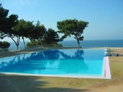 Photo for Apart for exception from SEA FRONT DUPLEX + pool Tennis Bandol