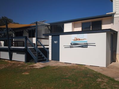 """Photo for Pipis at Poyungan, """"The Shores"""" one of the few beachfront homes on Fraser island"""