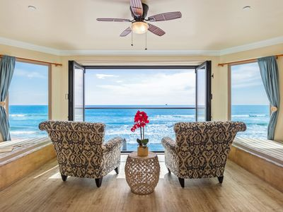 Photo for Lovely Oceanfront 2 BR Unit Designer Decorated & A/C Equipped