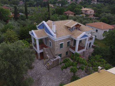 Photo for Historic Stone Mansion in Lefkada