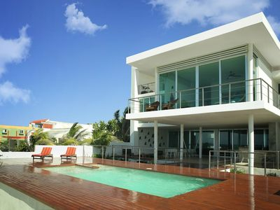 Photo for Beachfront Upscale House in Telchac