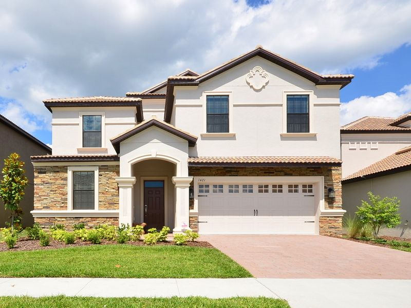 Unforgettable Vip Home Orlando Game Room Pool 9 Bedroom 5 Bathroom Vacation Home Located