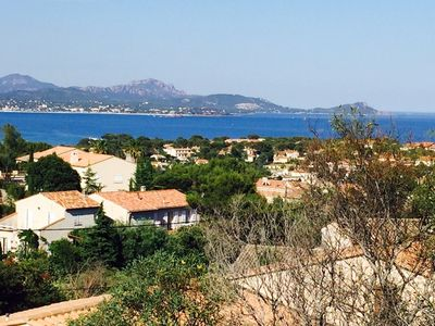 Photo for BEAUTIFUL VILLA,SEA VIEW,9 PEOPLE,SWIMMING POOL,AIR CONDITIONING, GARAGE, QUIET