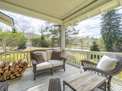 Photo for NEW! Charming, Cozy Harris Lakeside Cottage within walking distance to downtown Highlands
