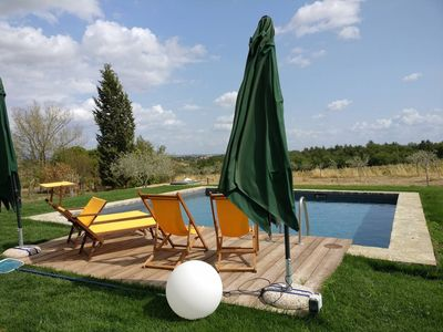 Photo for Charming 4 bedroom villa in Montepulciano. Pool. WIFI.