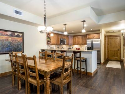 Photo for Family-friendly condo w/ fireplace, pools, hot tubs, ski shuttle & more!