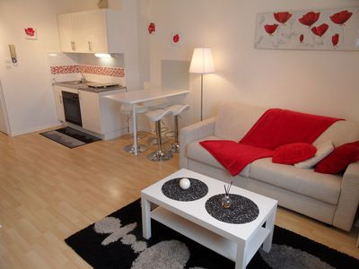 Photo for Gerardmer, warm duplex apartment F2 in the city center