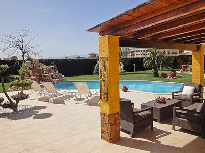 Photo for 3 bedroom Villa, sleeps 6 in L'Aldea with Pool, Air Con and WiFi