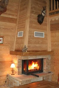 Photo for individual wooden chalet 15 people comfort
