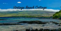 The vintage beach cottage is so amazing!