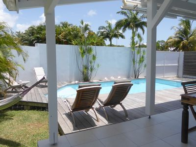 Photo for charming little 2 bedroom villa with private pool in residential area